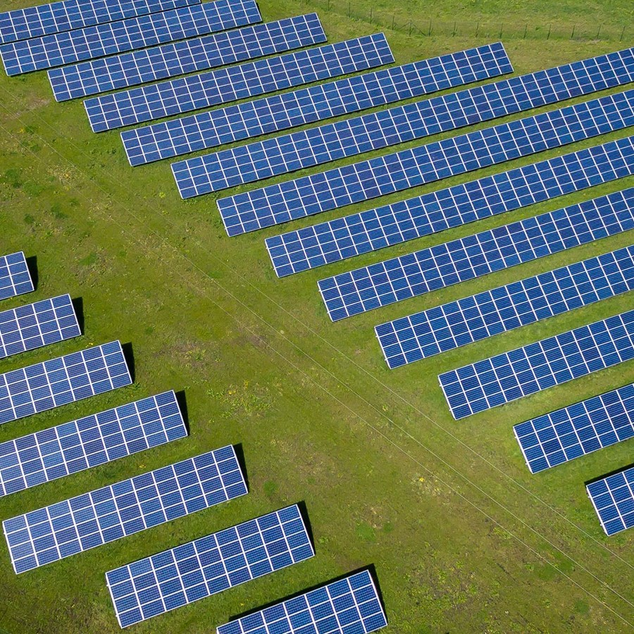 A photo of the Vermont can use solar to meet 20% of its electricity needs by 2025 project