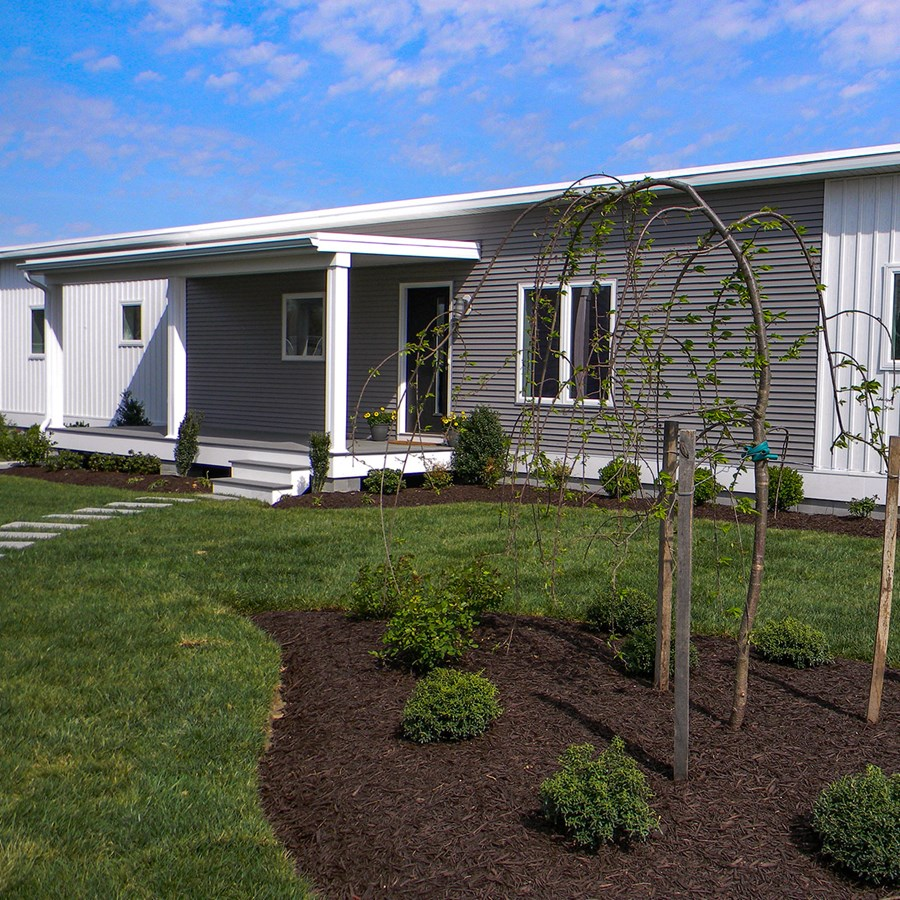 A photo of the High-efficiency modular homes are an affordable housing solution  project